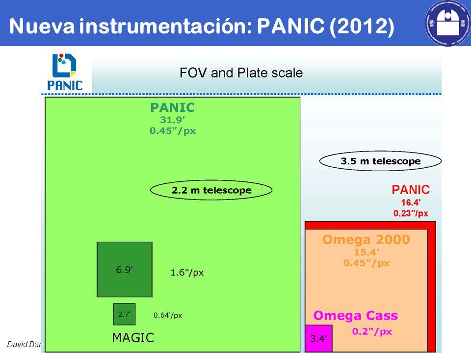 David Barrado Nueva instrumentación: PANIC (2012)