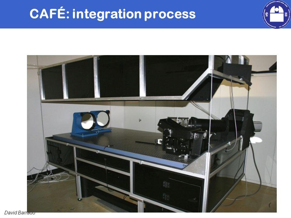 David Barrado CAFÉ: integration process