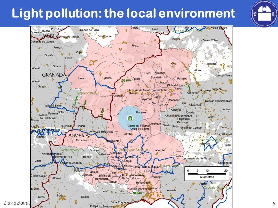 David Barrado Light pollution: the local environment 5