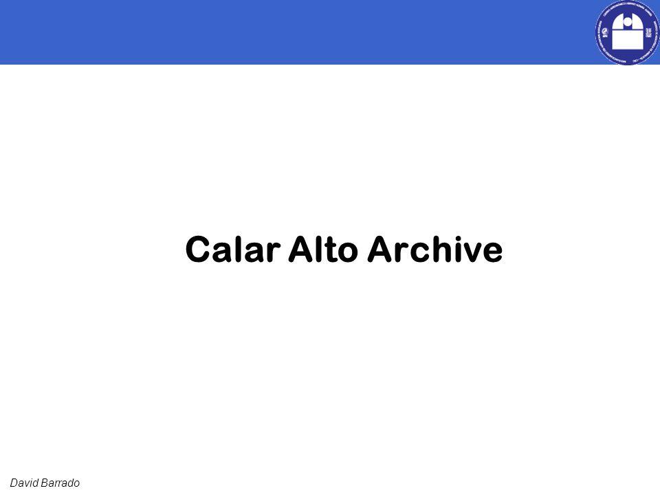 David Barrado Calar Alto Archive