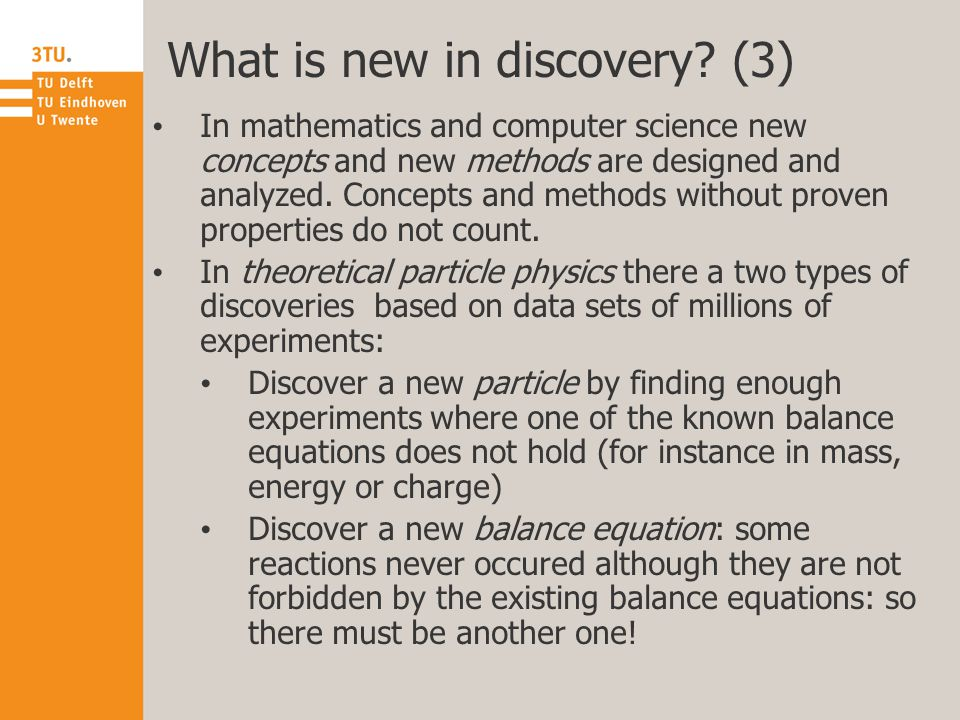 What is new in discovery.