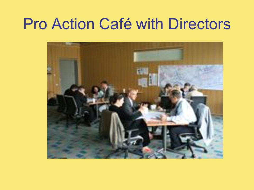 Pro Action Café with Directors