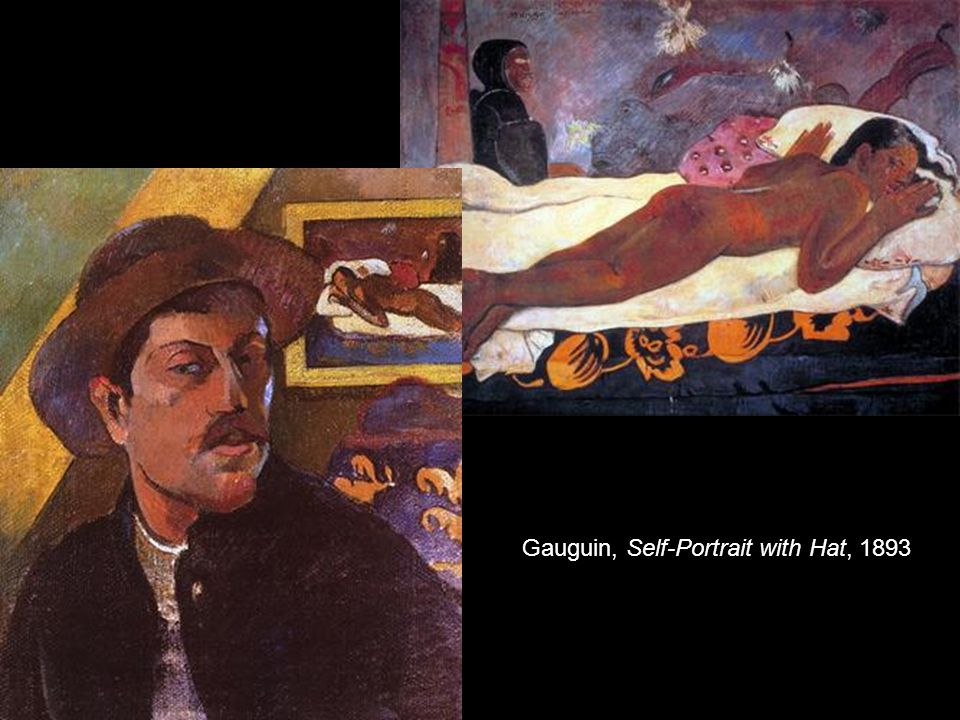 Gauguin, Self-Portrait with Hat, 1893