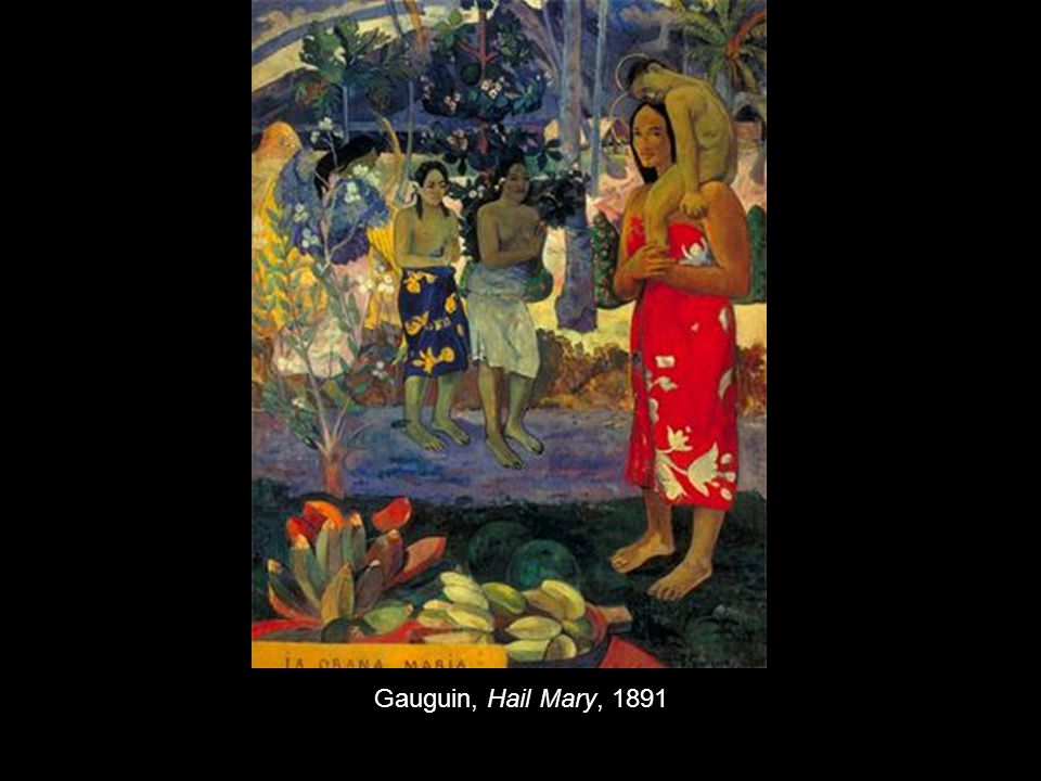 Gauguin, Hail Mary, 1891