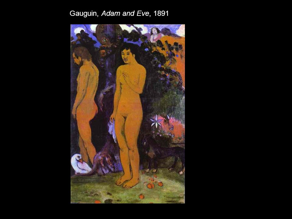 Gauguin, Adam and Eve, 1891