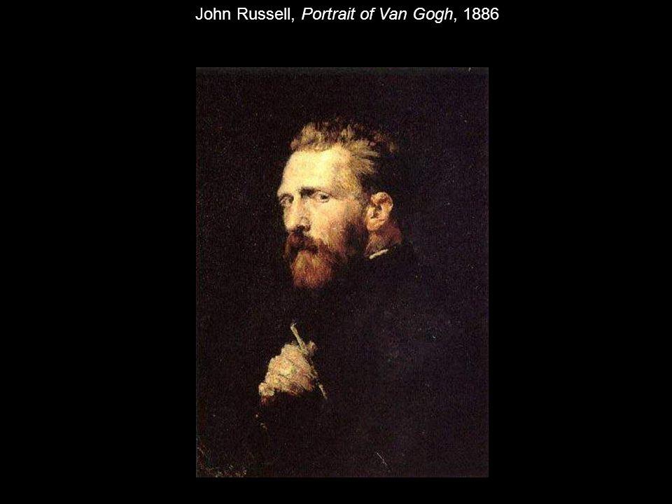 John Russell, Portrait of Van Gogh, 1886