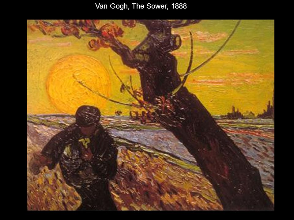 Van Gogh, The Sower, 1888