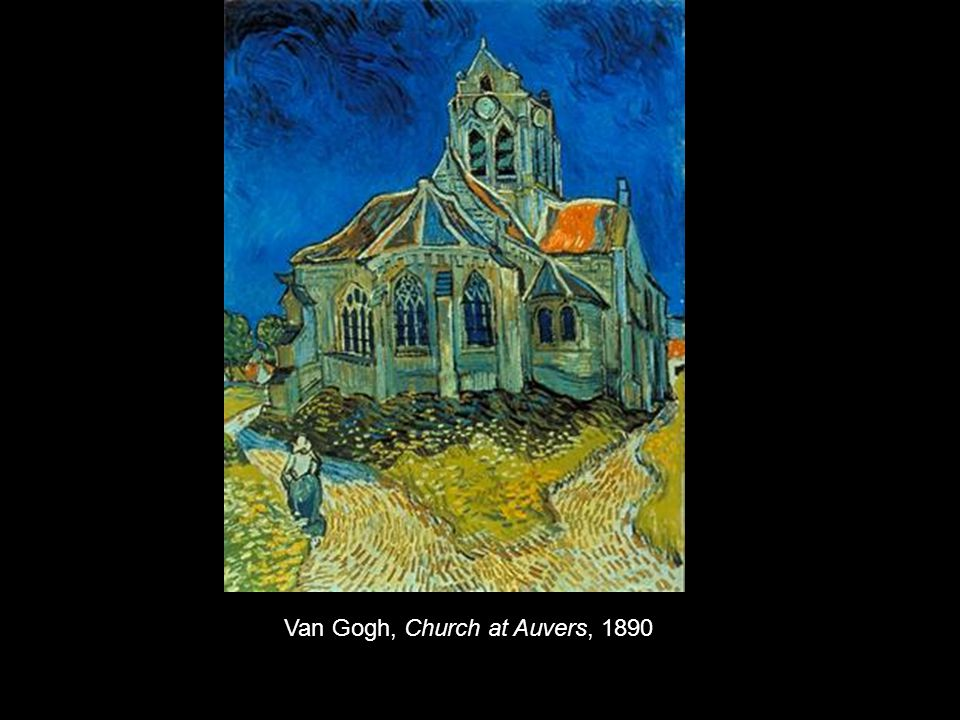Van Gogh, Church at Auvers, 1890