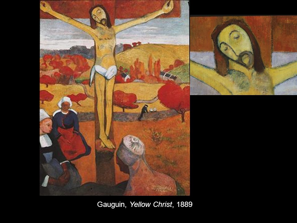 Gauguin, Yellow Christ, 1889