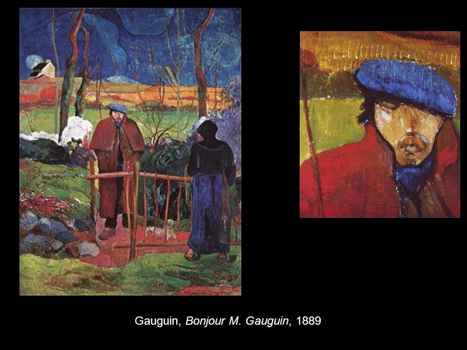 Gauguin, Bonjour M. Gauguin, 1889