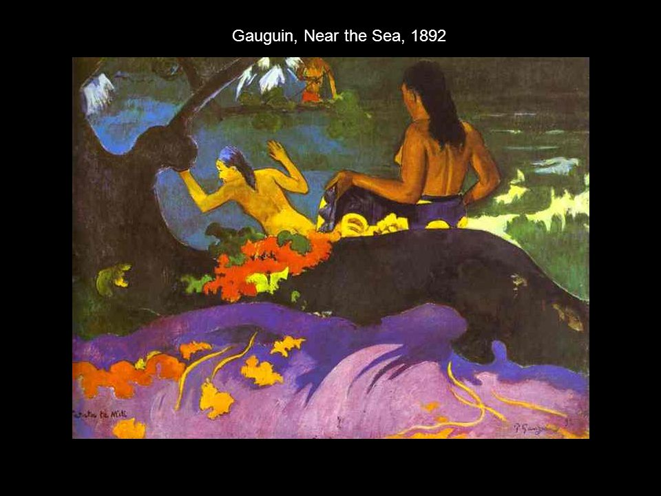 Gauguin, Near the Sea, 1892