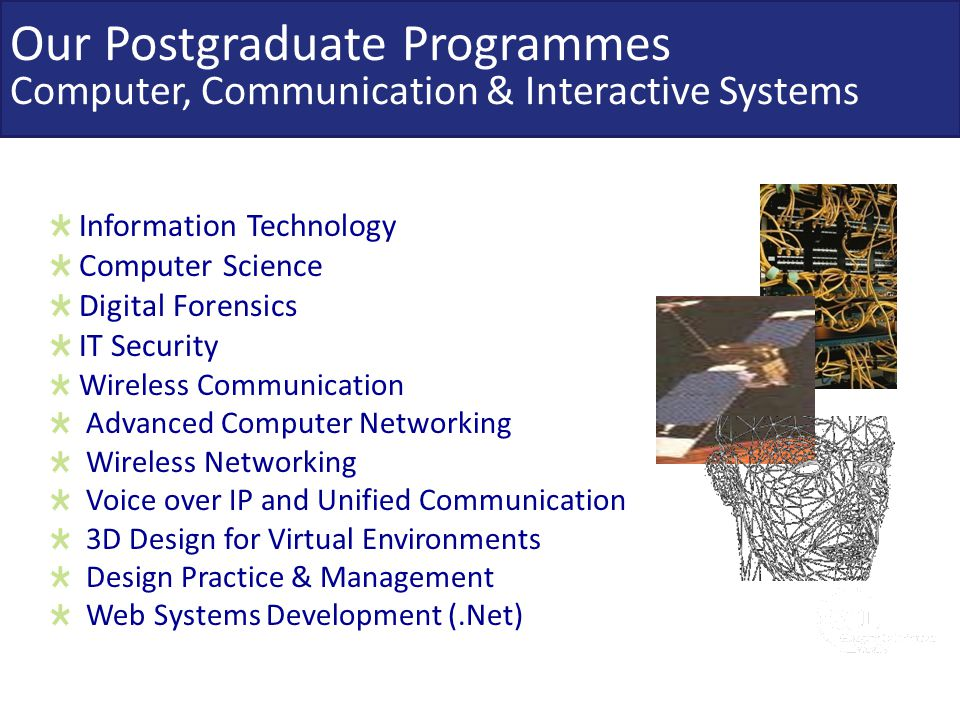 Information Technology Computer Science Digital Forensics IT Security Wireless Communication Advanced Computer Networking Wireless Networking Voice ov