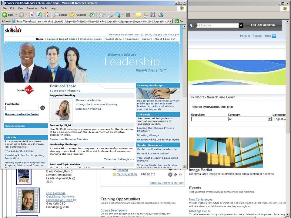 SkillSoft Canadian Perspectives 2008 CAFÉ 2008 (Client Advisory Forum Event)