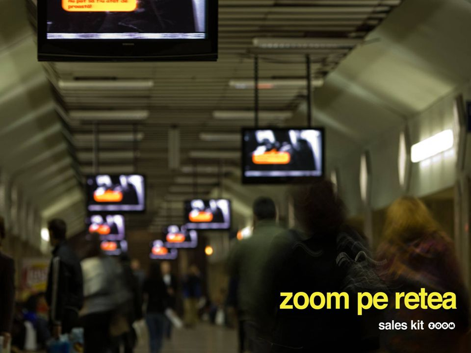 pag 10 ZOOM covers 4 major types of area: metro stations, hypermarket, café bars & pubs, airports.