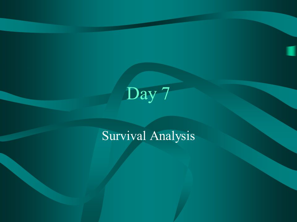 Day 7 Survival Analysis