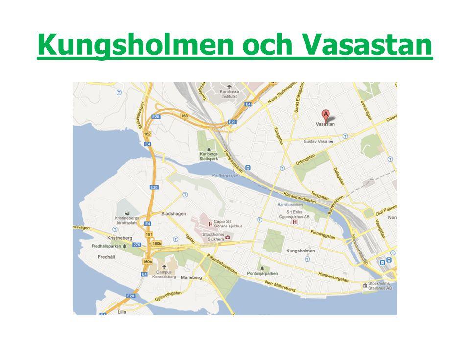 Kungsholmen och Vasastan