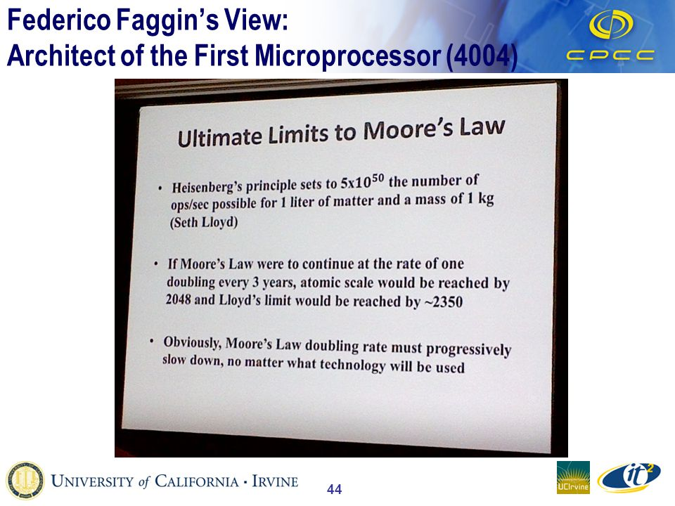 44 Federico Faggins View: Architect of the First Microprocessor (4004)