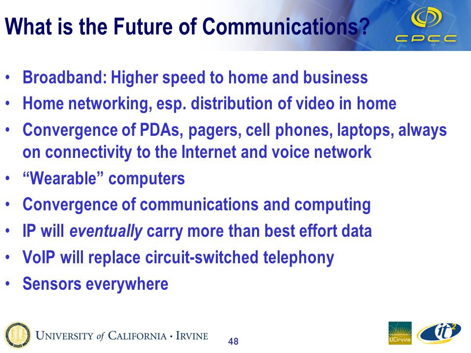 48 What is the Future of Communications.