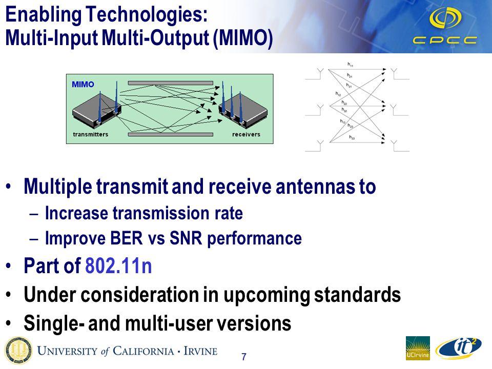 18 Evolution to 3G cdma2000 1x GSM TDMAGSM/GPRS GSM/GPRS/EDGE WCDMA cdmaOne cdma2000 1xEV-DV cdma2000 1xEV-DO TD-SCDMA PDC