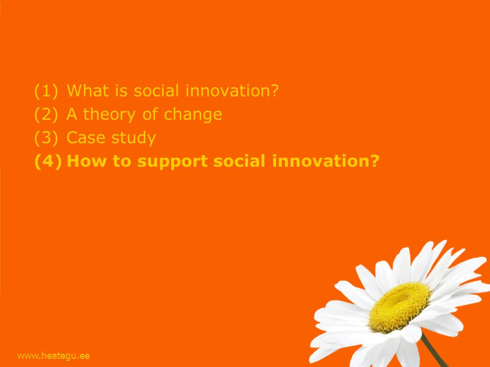 (1)What is social innovation.