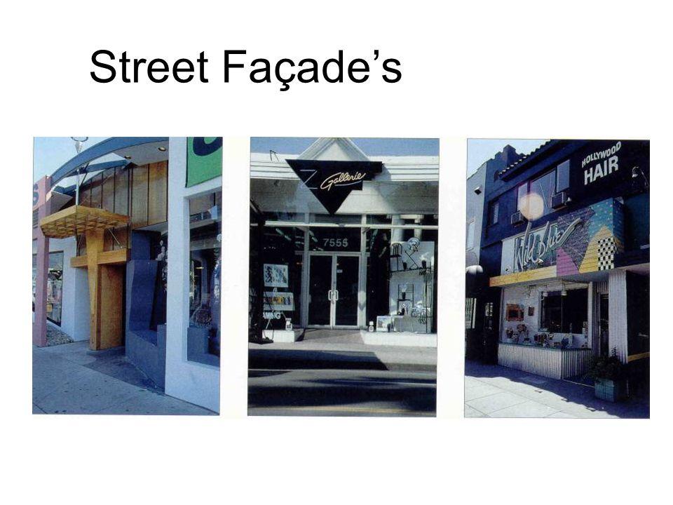 Street Façades