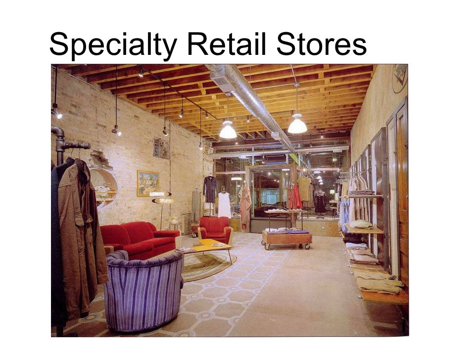 Specialty Retail Stores