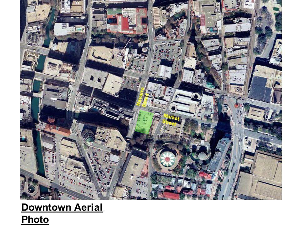 Market Street Navarro Street Downtown Aerial Photo