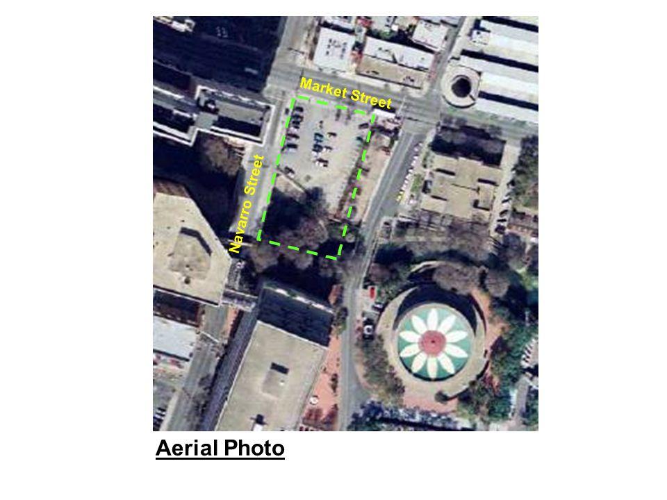Aerial Photo Navarro Street Market Street
