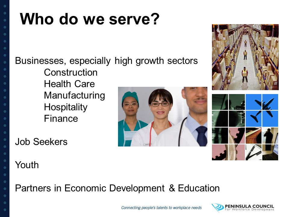 Key Workforce Challenges Retirement of boomers Skills shortage Retention Changing generations - cultural and age differences Learning disconnects High school drop out rates Drug issues ALL IMPACTING THE EMERGING WORKFORCE!!!