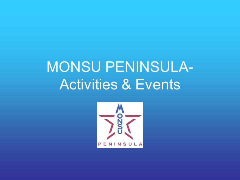 MONSU PENINSULA- Activities & Events