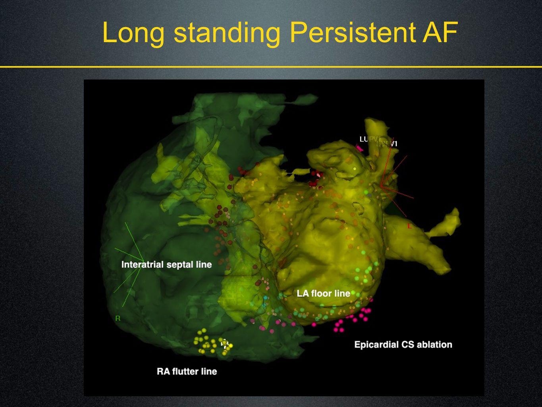 Long standing Persistent AF