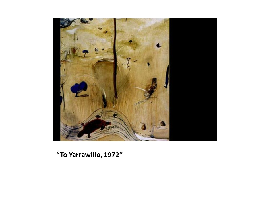 To Yarrawilla, 1972