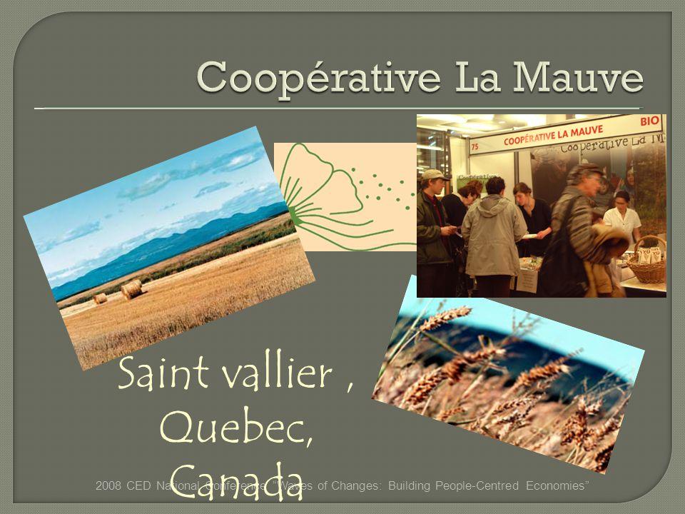 Saint vallier, Quebec, Canada