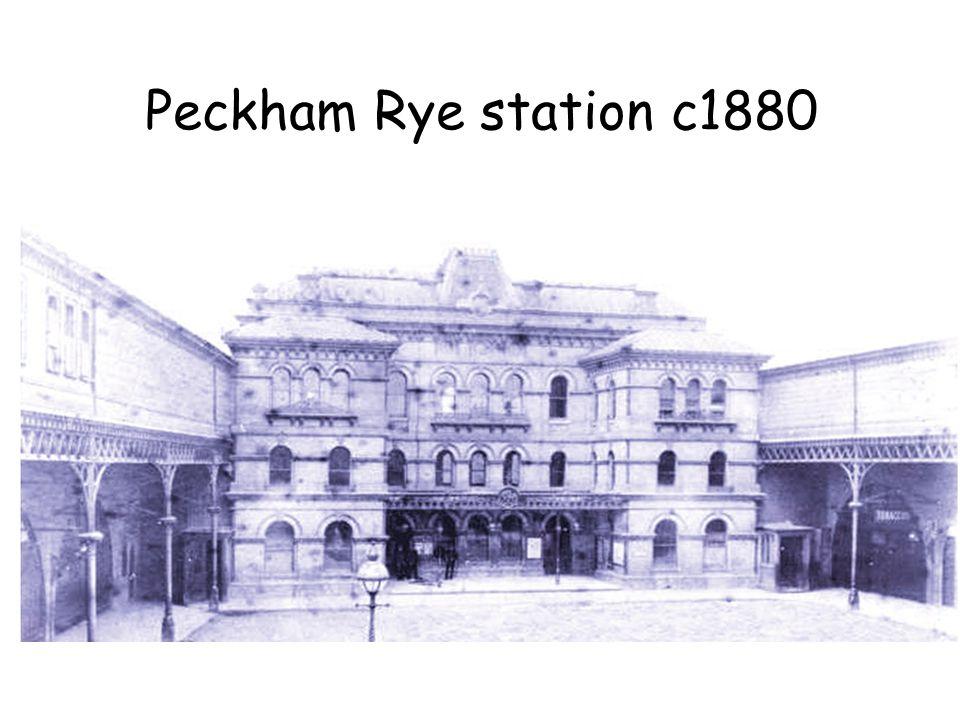 Peckham Rye station c1880