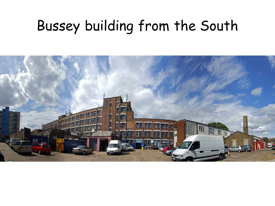 Bussey building from the South