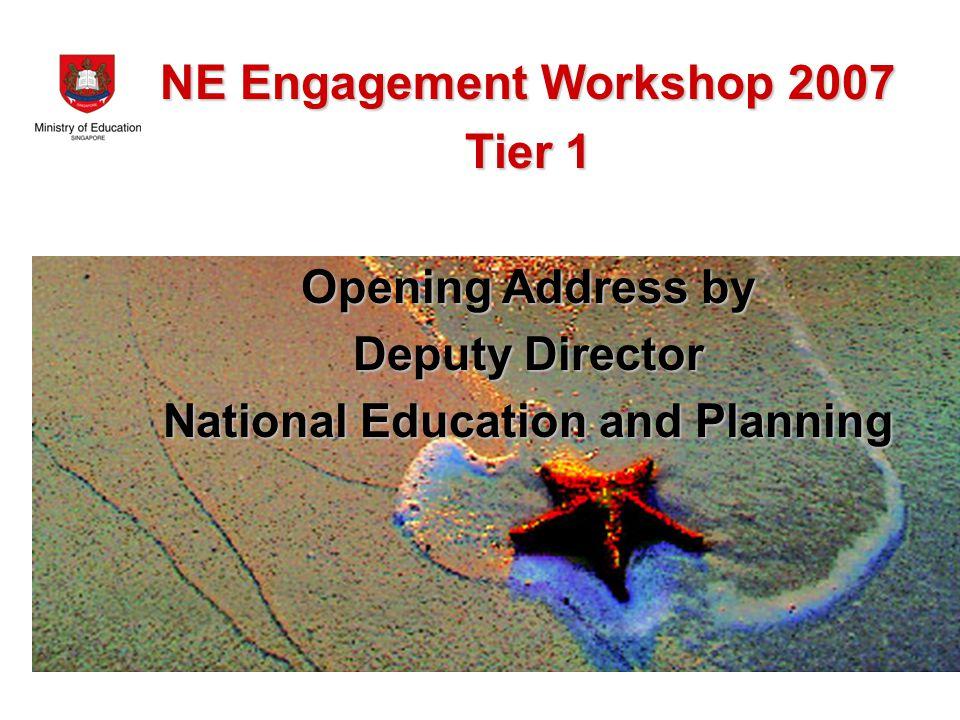 Tea Break & Prelim Action Planning for Tier 2