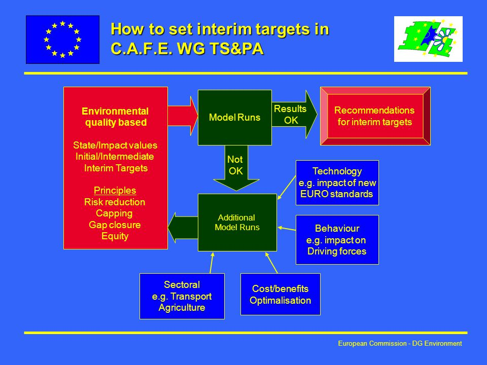 European Commission - DG Environment How to set interim targets in C.A.F.E.