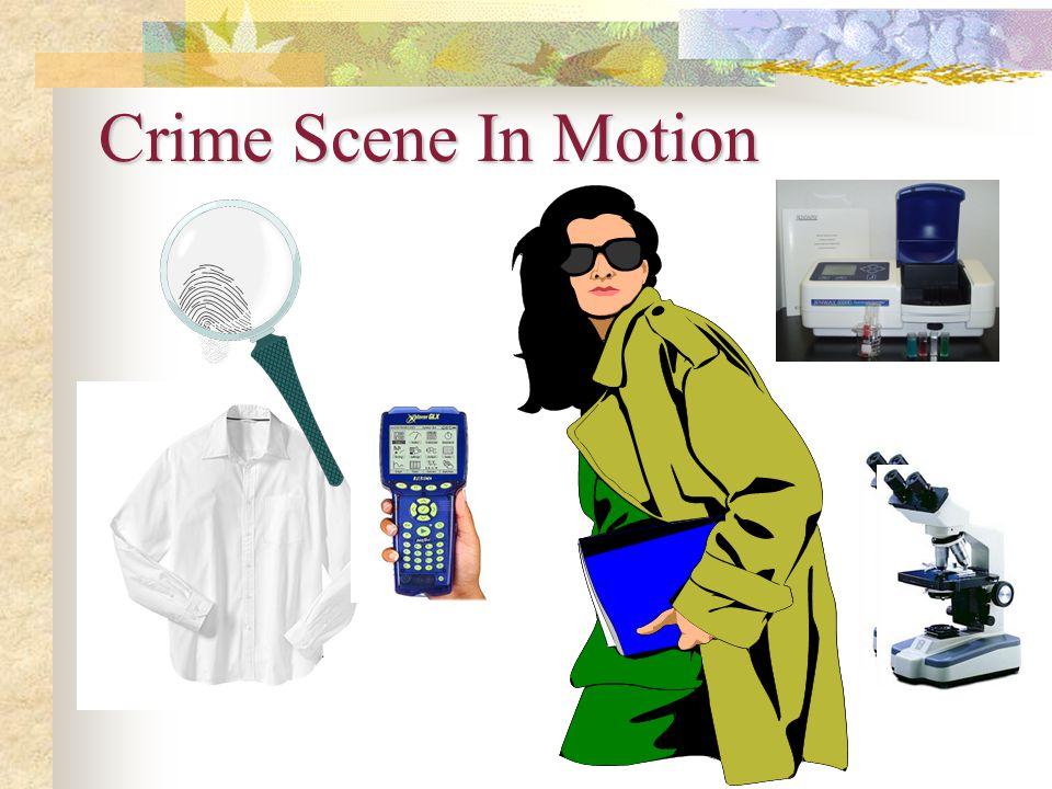 Crime Scene In Motion