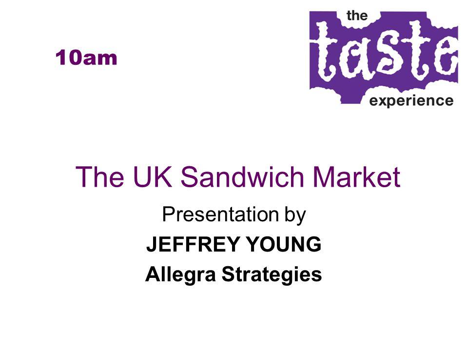 The UK Sandwich Market Presentation by JEFFREY YOUNG Allegra Strategies 10am