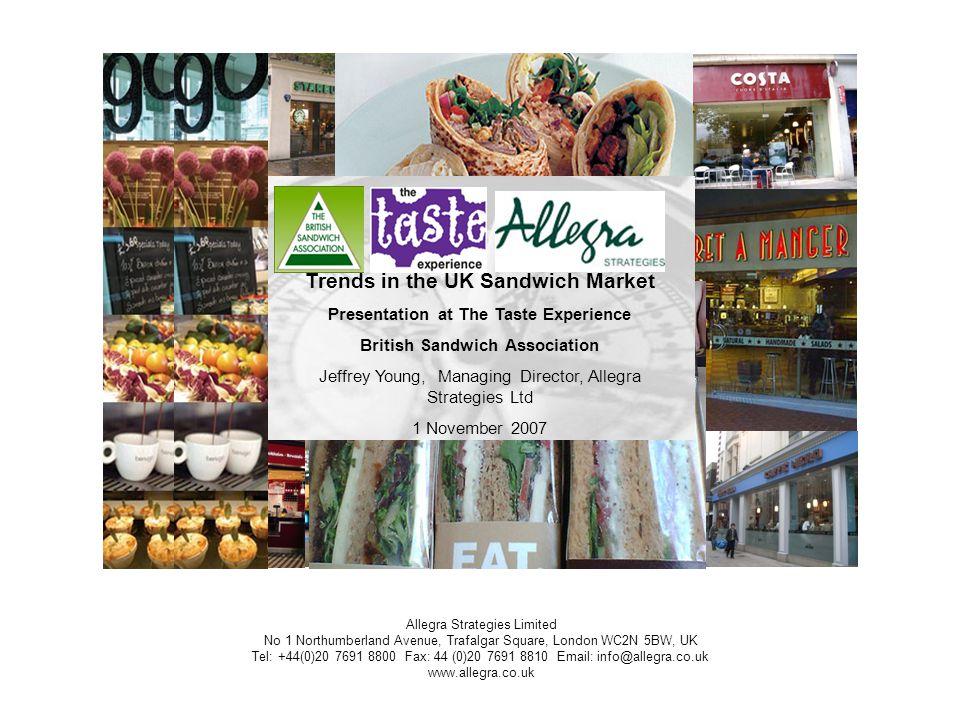Page 3 1.Background on Allegra Strategies 2.Consumer Food Mega-Trends 3.Market Landscape 4.Case Study: Branded Coffee Chain Segment 5.Future Sandwich Market Developments 6.Q&A