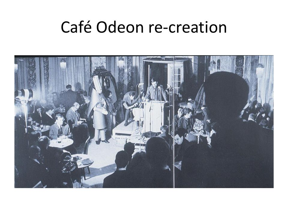 Café Odeon re-creation