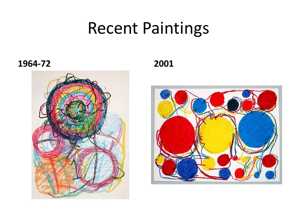 Recent Paintings 1964-722001