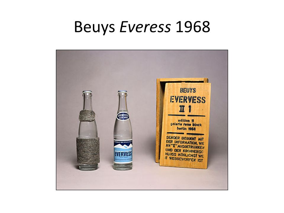 Beuys Everess 1968