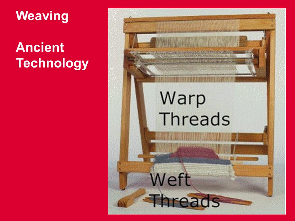 Weaving Ancient Technology