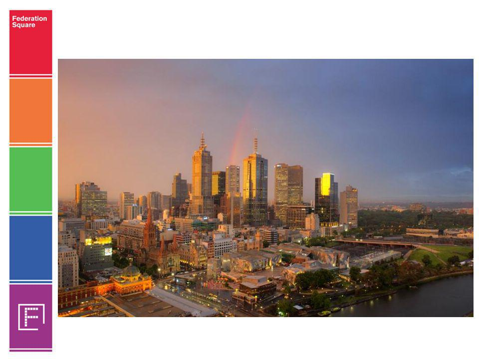 Vision To be recognised internationally as a contemporary world site and Melbourne s inspirational public space