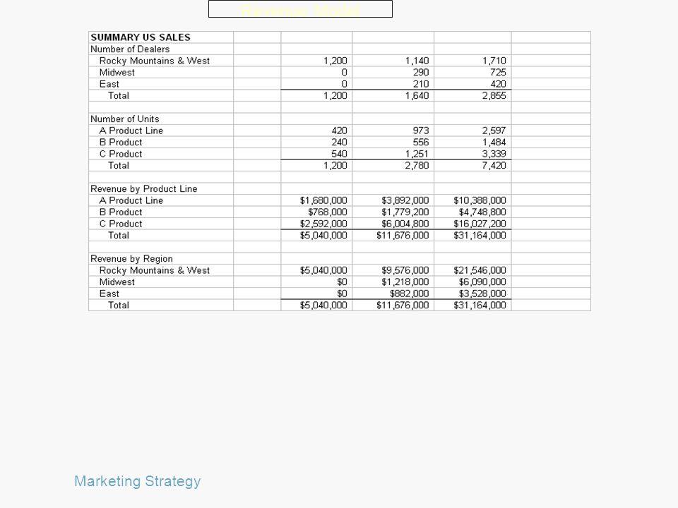 Revenue Model Marketing Strategy