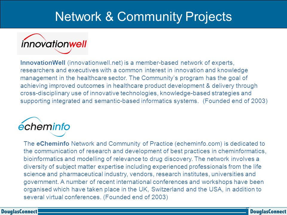 Development of our Networks 1.