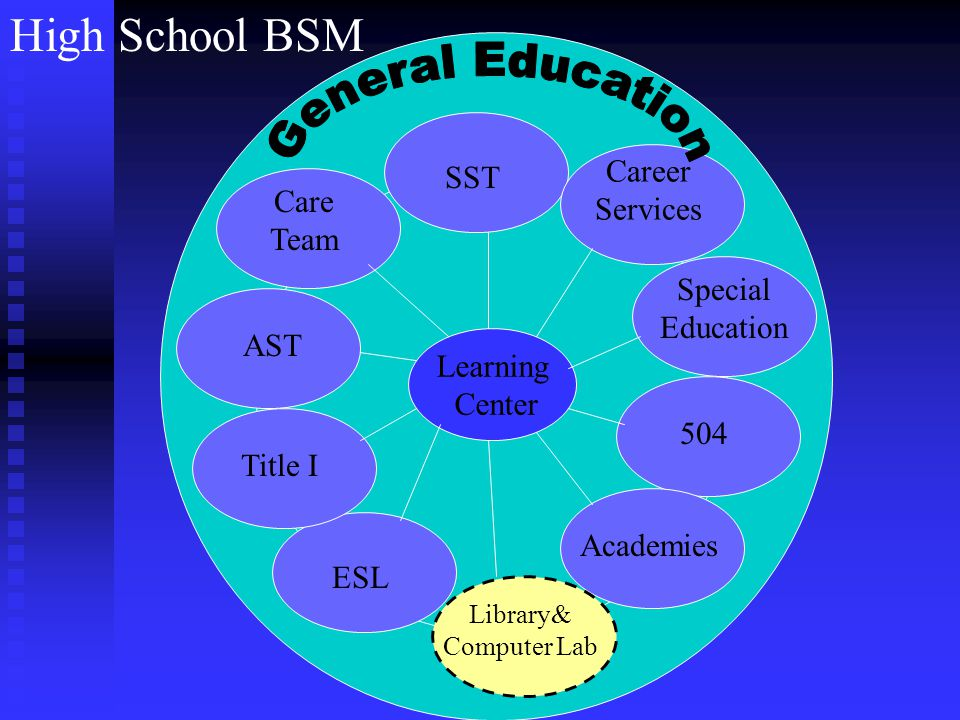 Elementary School BSM AST Academic Support Team diagnoses then prescribes AST diagnoses and prescribes