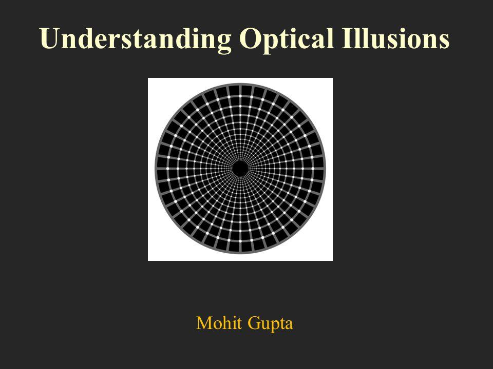 Understanding Optical Illusions Mohit Gupta