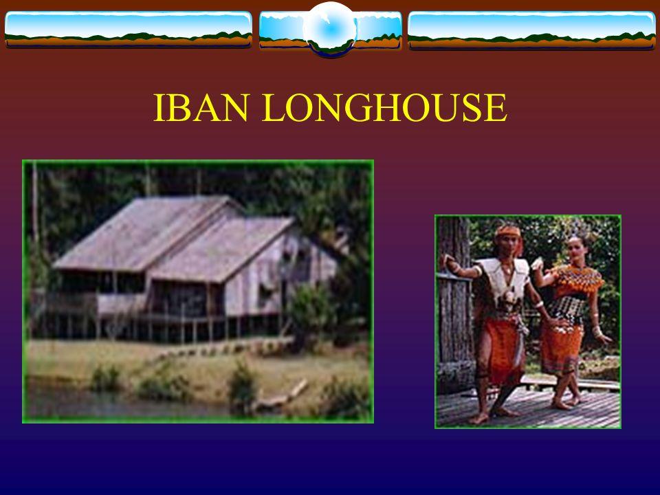 BIDAYUH LONGHOUSE-SKULL HOUSE Bidayuh longhouse-skull house